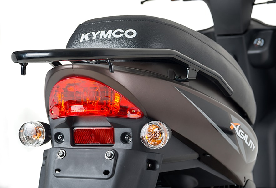 Scooter Kymco Agility FR lang zadel